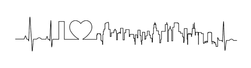 I Love Chicago In An Extraordinary Ecg Style