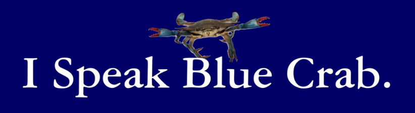 I Speak Blue Crab