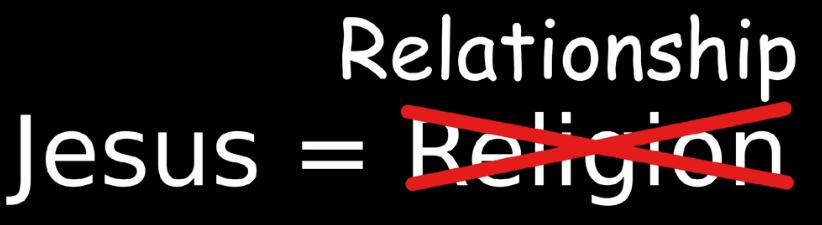 Jesus Relationship
