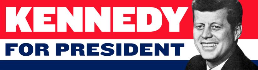 John F Kennedy For President 1960 Vintage