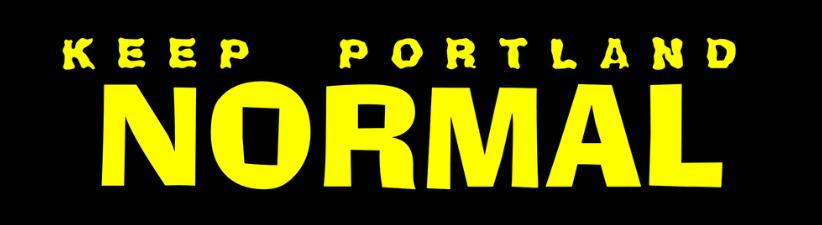 Keep Portland Normal