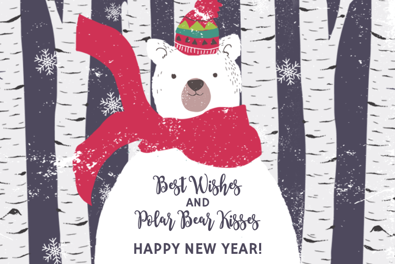Beary Merry New Year
