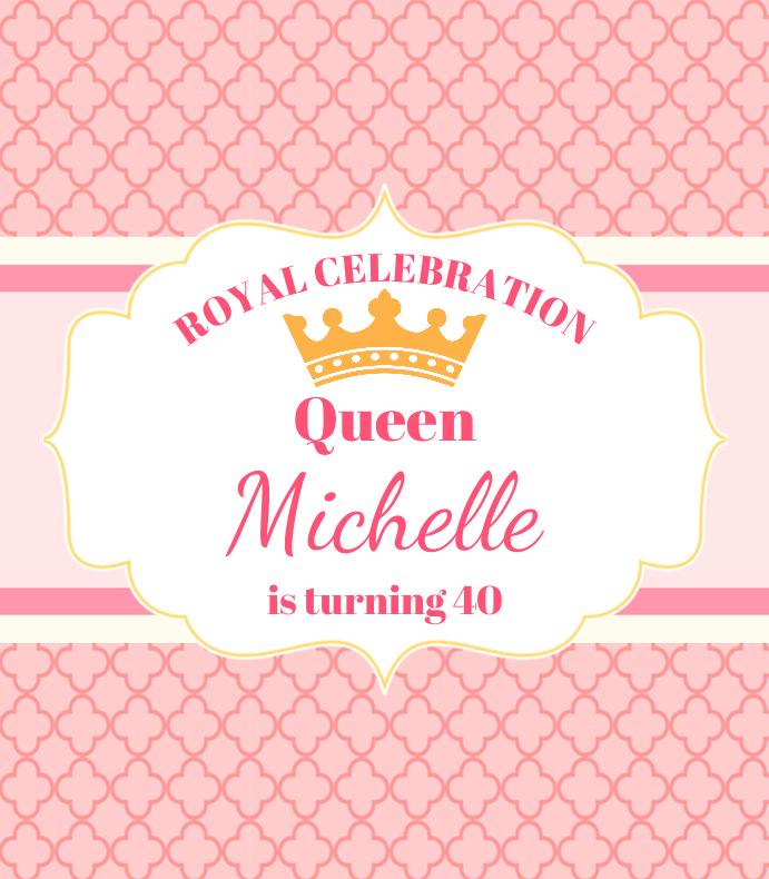Pink Queen Birthday