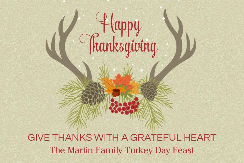 Thanksgiving Deer