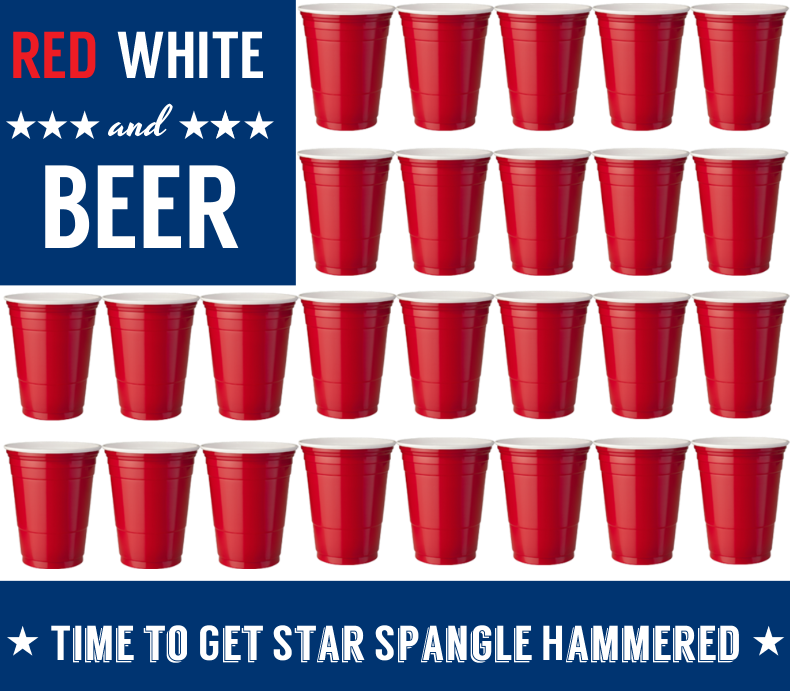 Red White and Beer