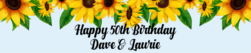 Sunflower Birthday For Them