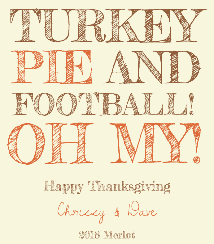 Turkey and Pie