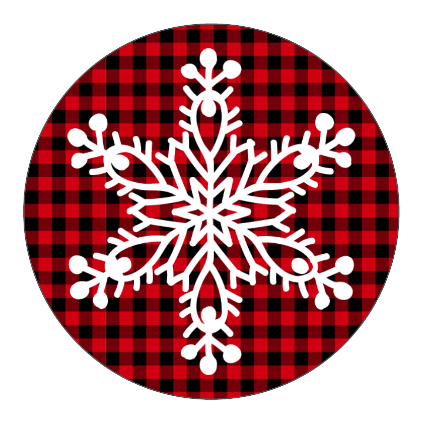 Snowflake Plaid