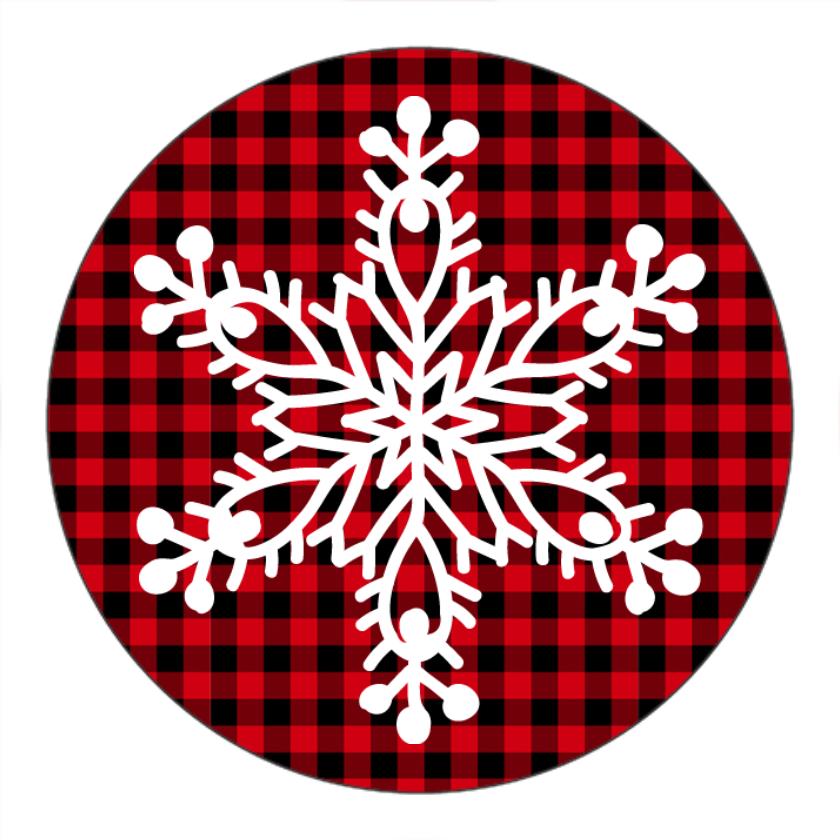 Snowflake Plaid