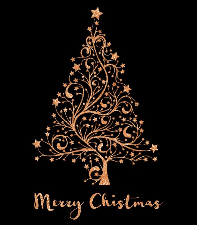 Copper Christmas Tree