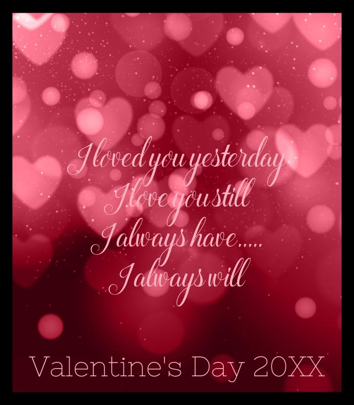 Bokeh Valentine