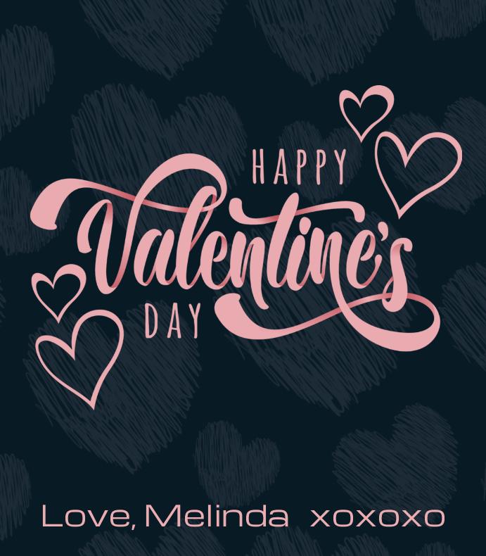 Happy Valentines Hearts