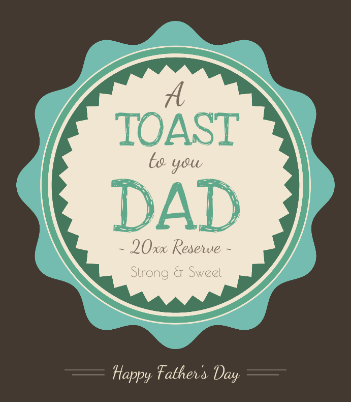 Toast To Dad