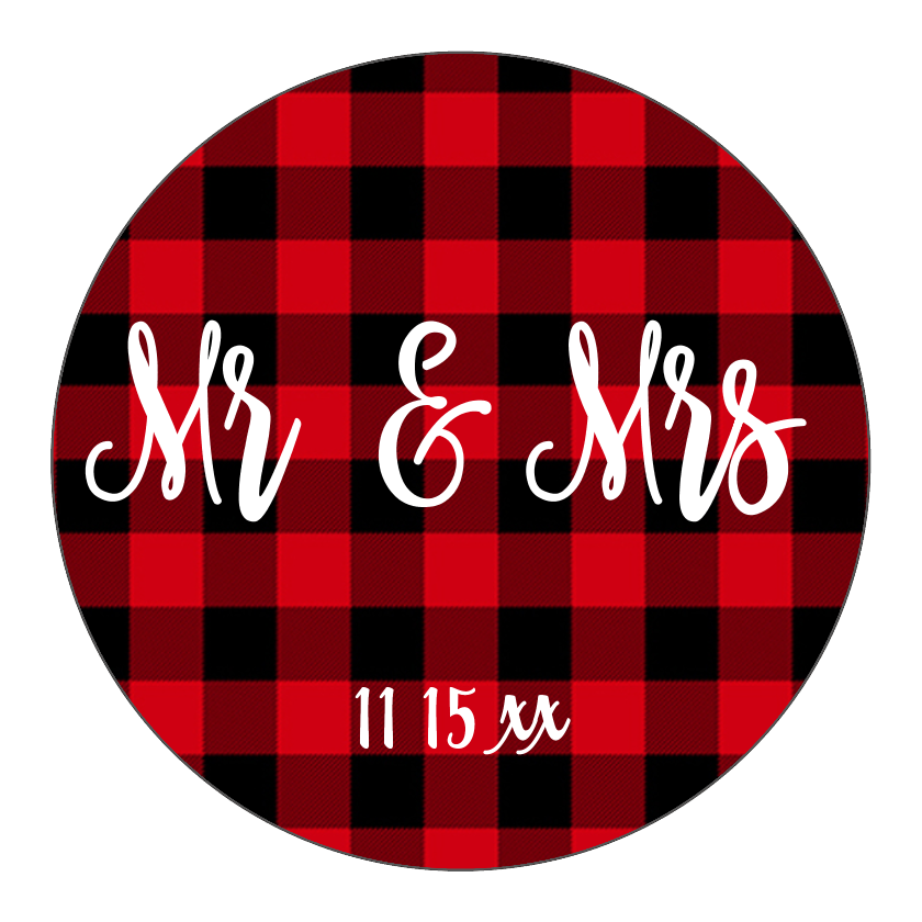 Buffalo Plaid Mr. & Mrs.