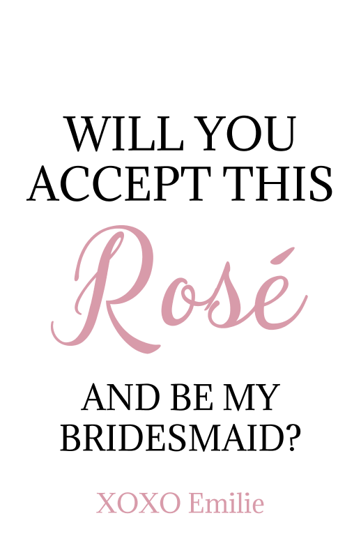 Bridesmaid Rose