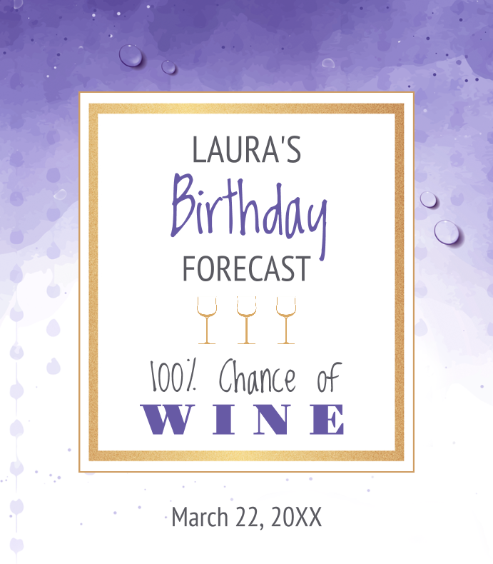 Birthday Forecast
