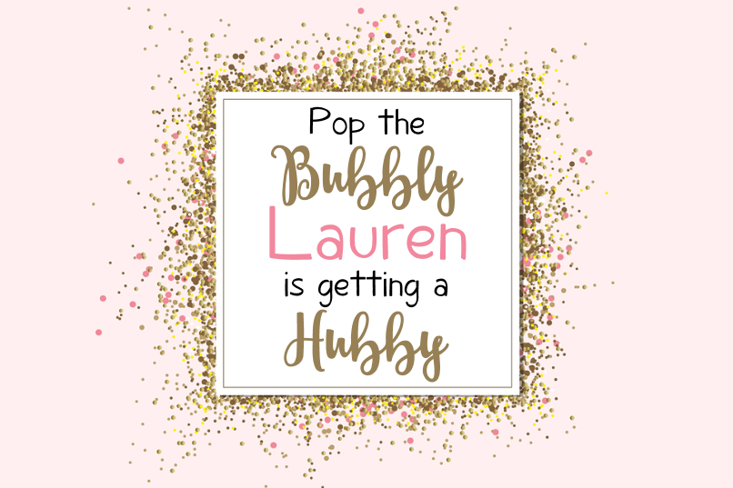 Pop The Bubbly