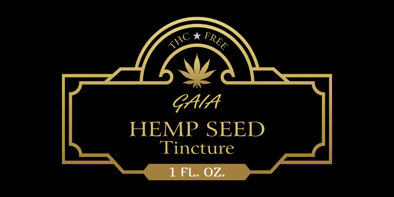 Hemp Seed Tincture