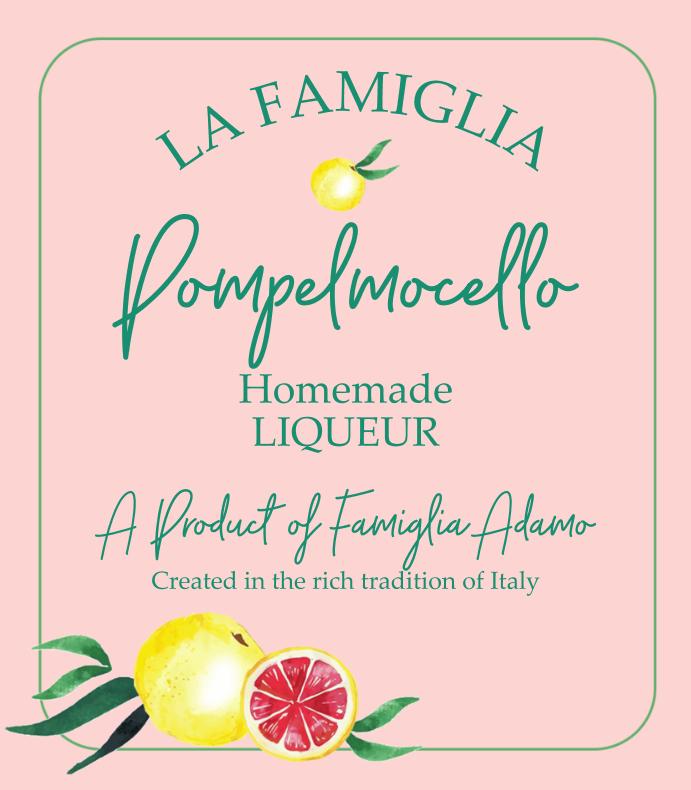 Pompelmocello Liqueur
