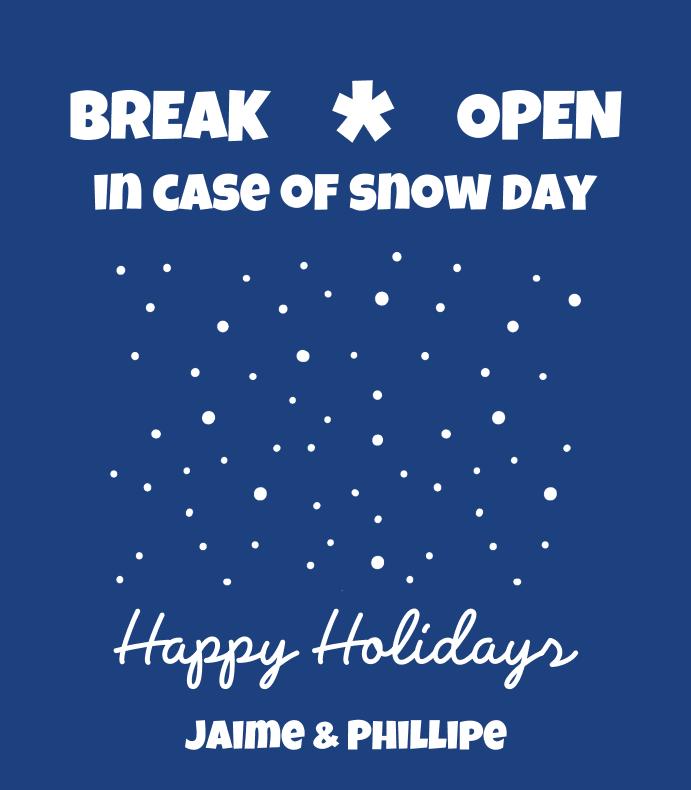 Snow Day Emergency