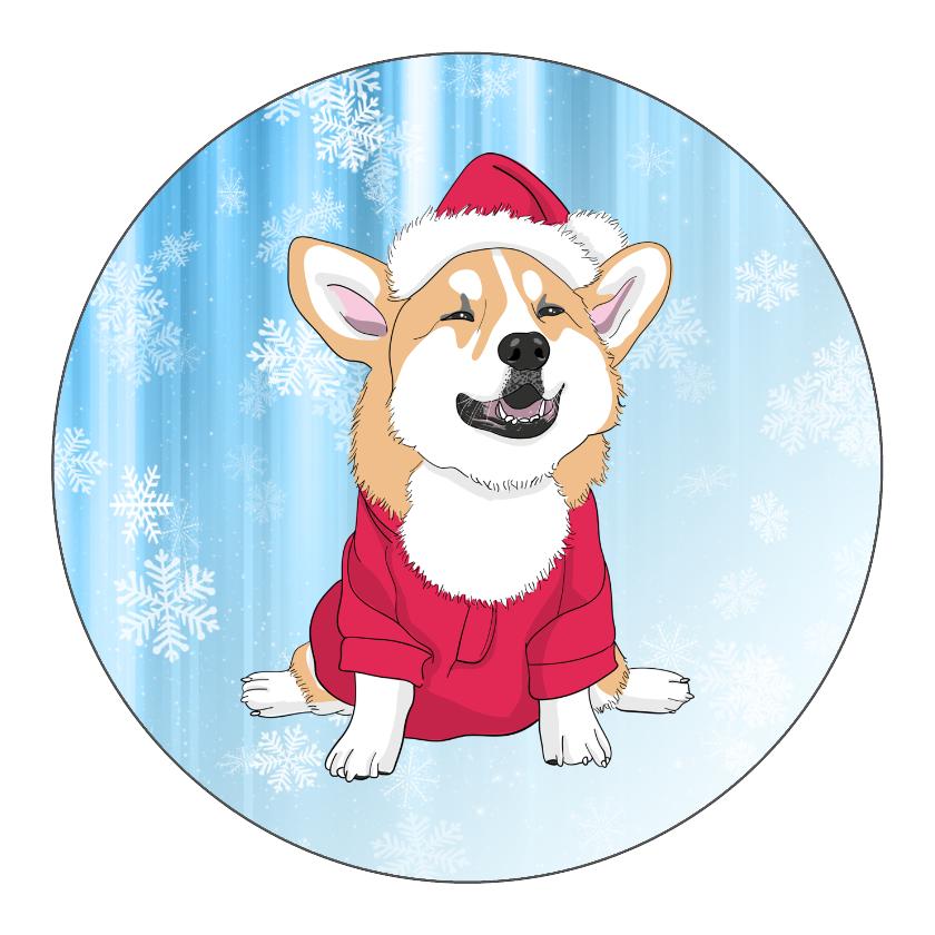 Christmas Corgi