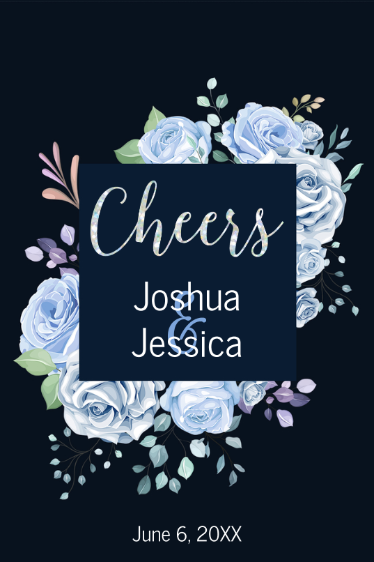Colorful Floral Cheers