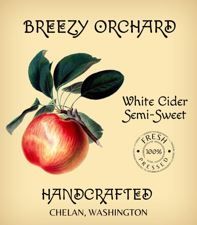 Handcrafted Cider