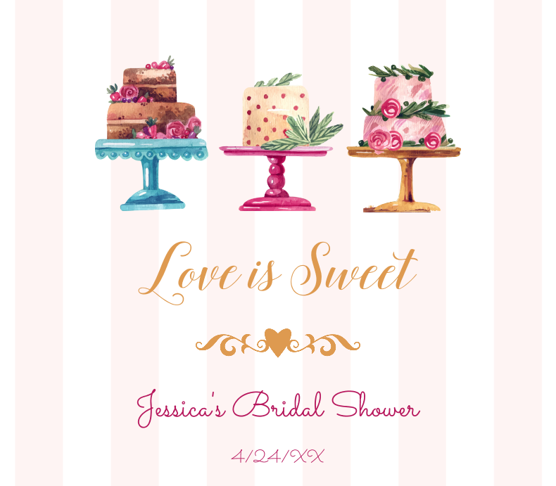 Love is Sweet Cakes