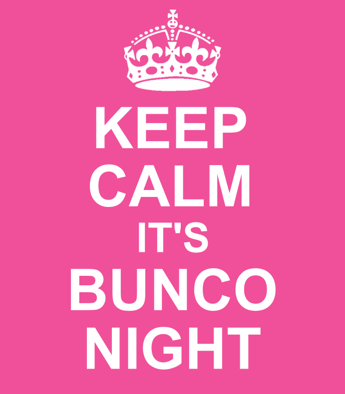 Keep Calm Bunco