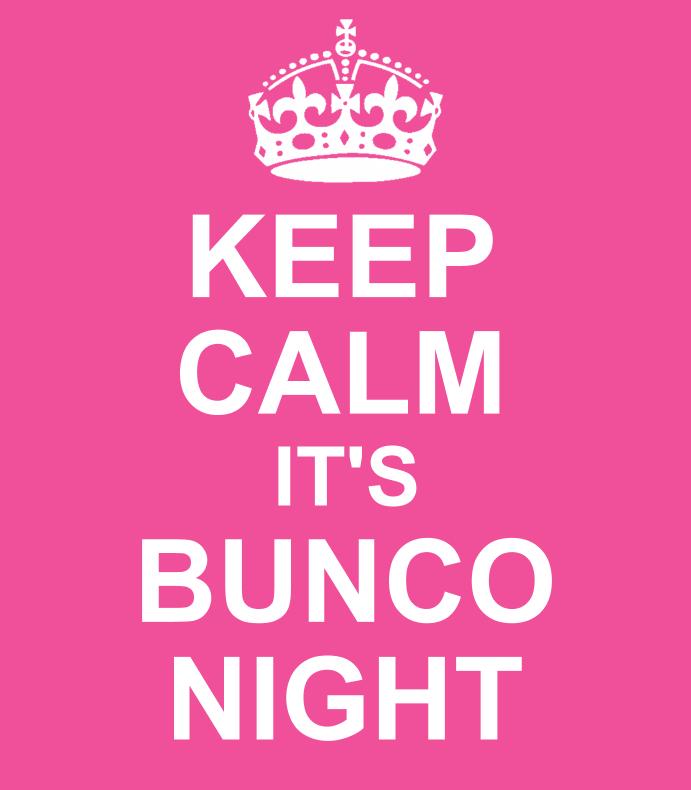 Keep Calm Bunco