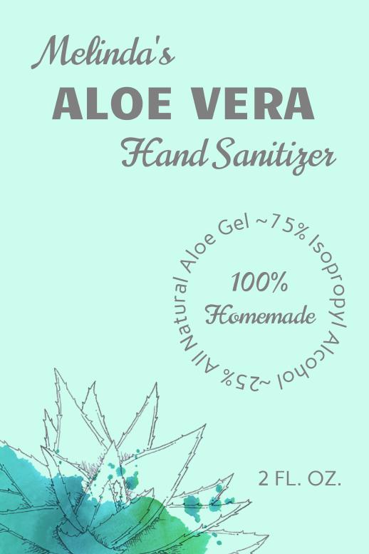 Aloe Vera Sanitizer