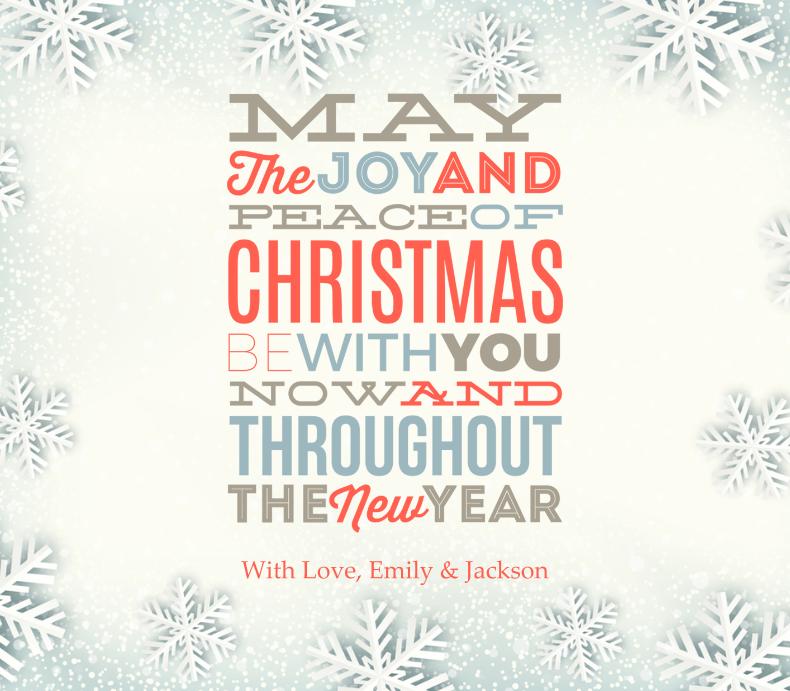 Holiday Season Message