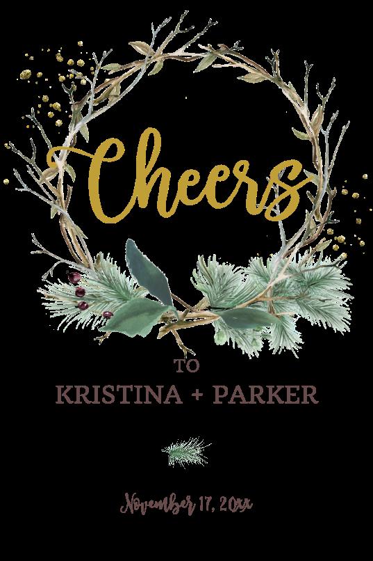Twig Wreath Cheers
