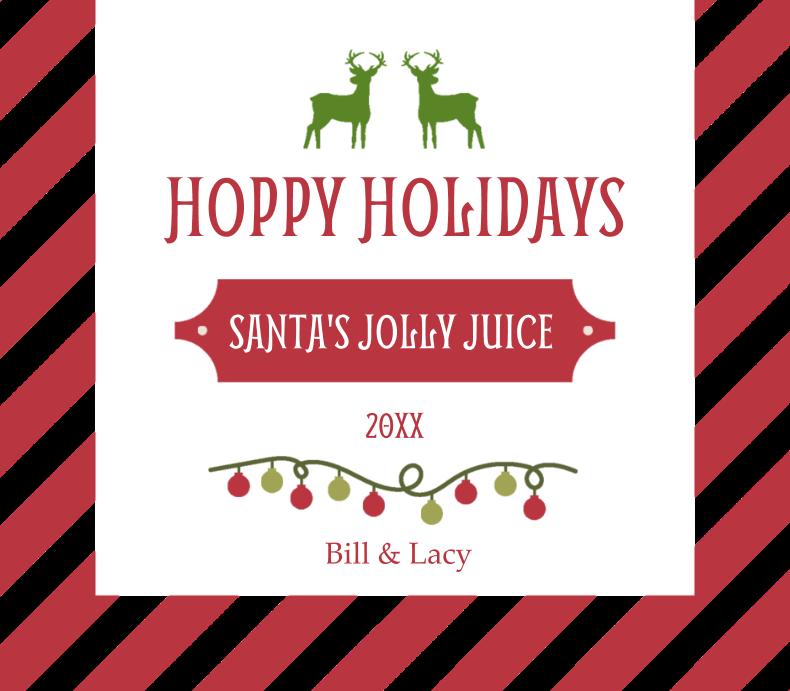 Striped Hoppy Holidays