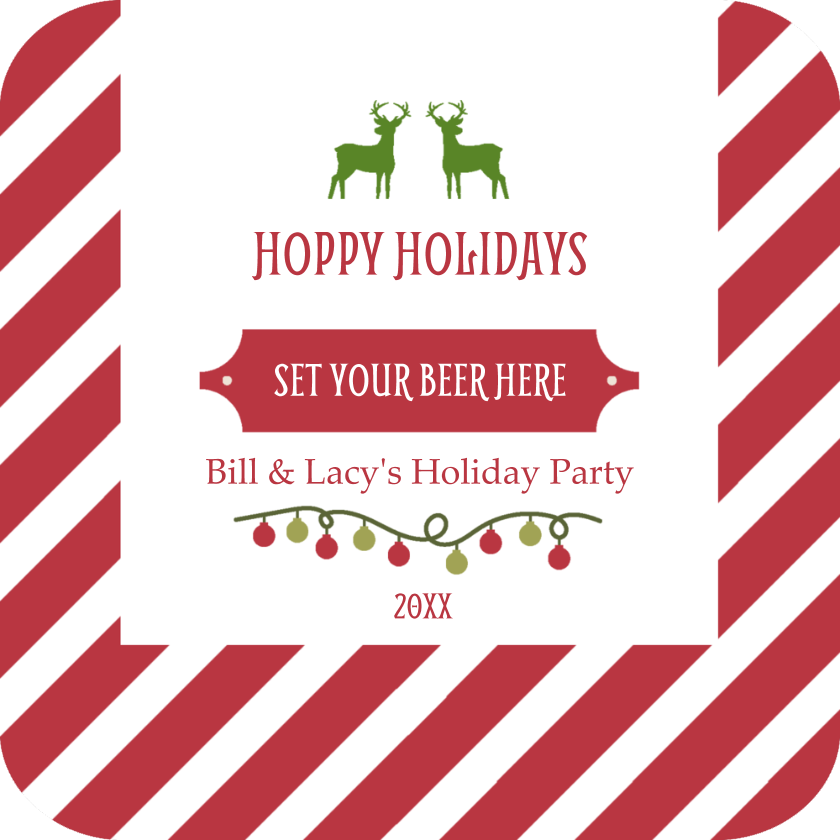 Striped Hoppy Holidays