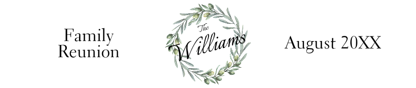 Family Reunion Wreath