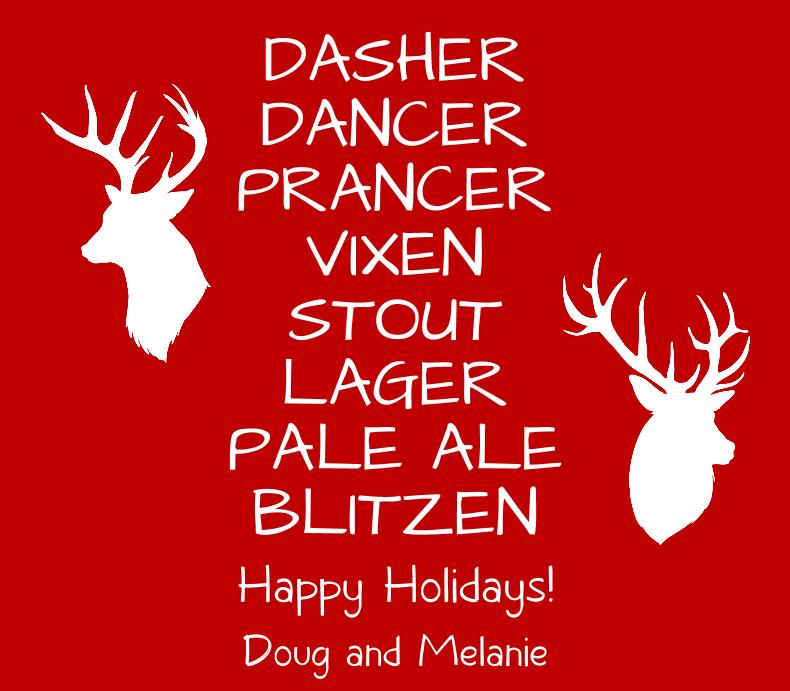 Santa's Reindeer Beer