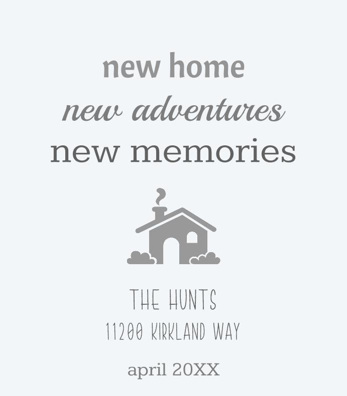 New Home, New Adventures