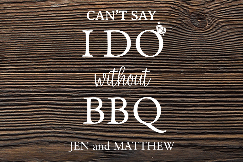 I Do and BBQ