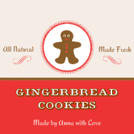 Food Label - Gingerbread