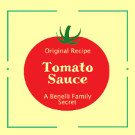 Food Label - Tomato Sauce