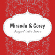 Wedding Sticker - Roped into Love