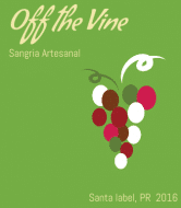 Celebration Wine Label - Off The Vine