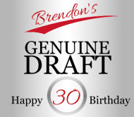 Birthday Beer Label - Genuine Draft