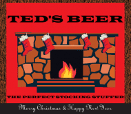 Holiday Beer Label - Stocking Stuffer