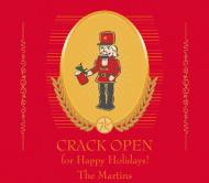 Holiday Beer Label - Nutcracker