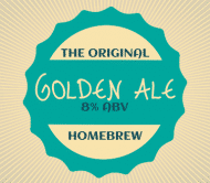 Expressions Beer Label - Golden Ale