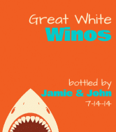Expressions Wine Label - Great White
