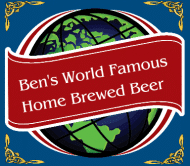 Celebration Beer Label - World Famous