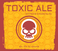 Expressions Beer Label - Toxic Ale